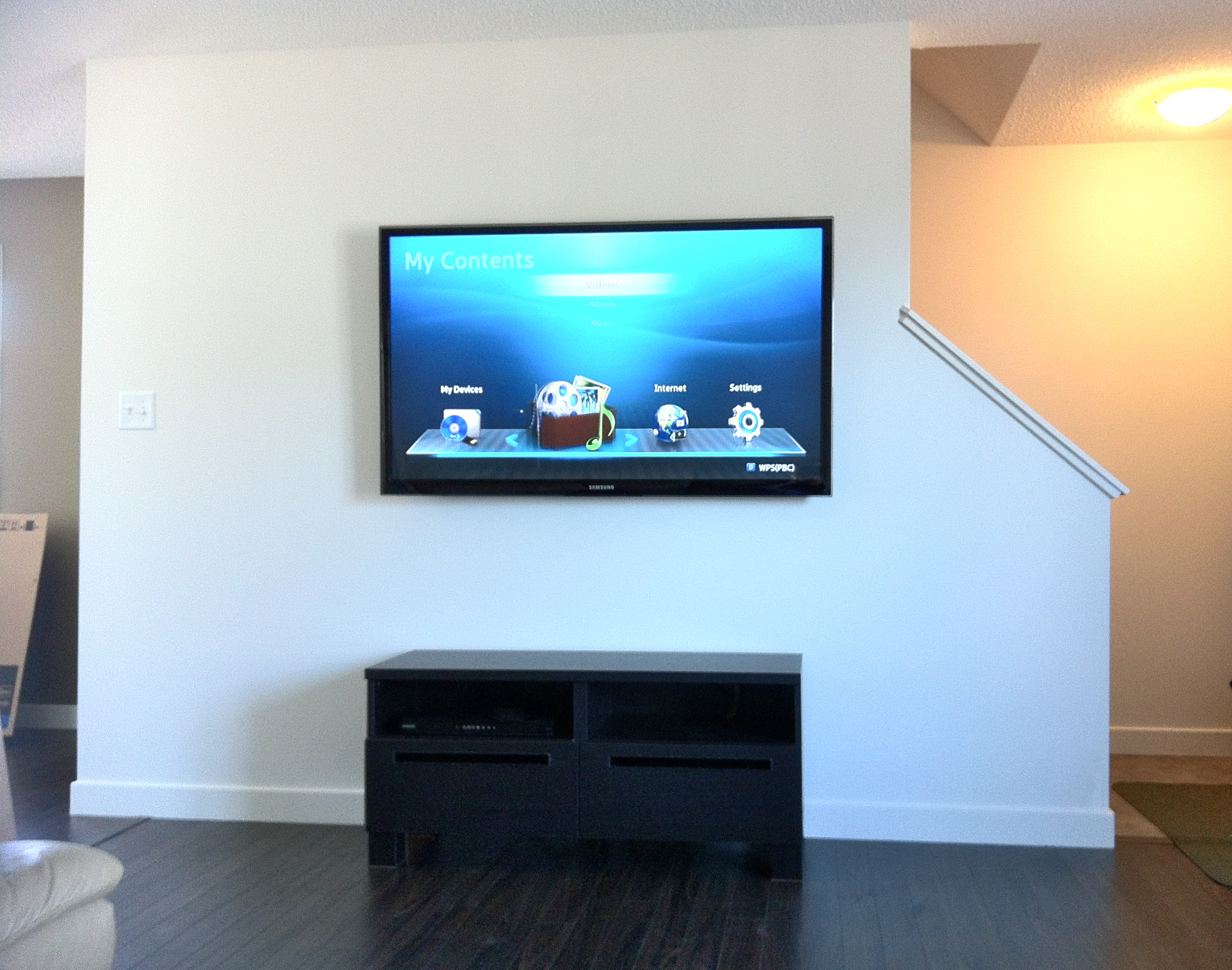 At First Glance Wall Mounting a Flat Screen TV seemed